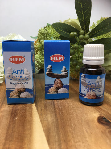 HEM Anti Stress Fragrance Oil 10ml
