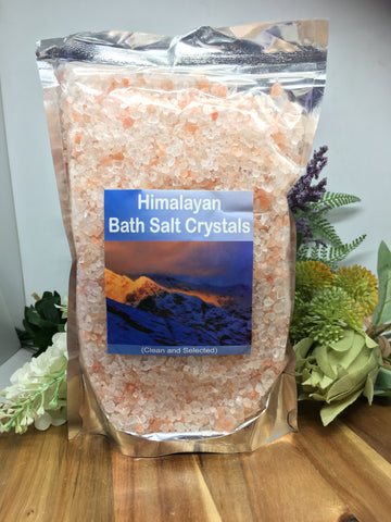 Himalayan Bath Salt Crystals 800g