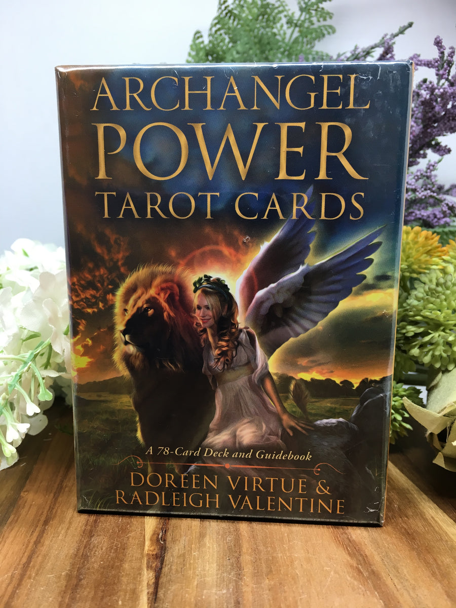 Archangel Power Tarot Cards Doreen Virture Radleigh Valentine Wicked Crystals And Things