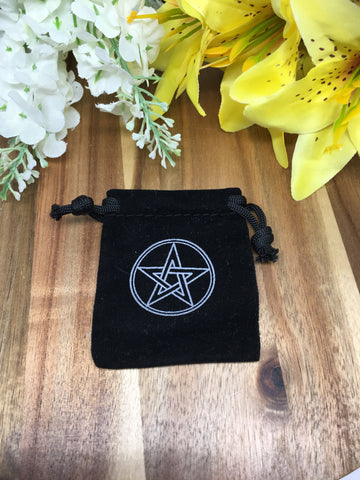 Pentacle Drawstring Pouch