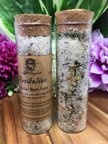 Herbal Bath Salts - Lyllith Dragonheart