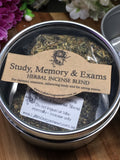 Lyllith Dragonheart - Study, Memory & Exams Herbal Incense Blend