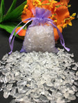 Clear Quartz Crystal Chips - 100g