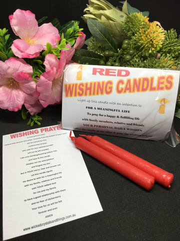 Wishing Candle - Red
