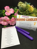 Wishing Candle - Violet