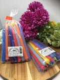 Tiny Taper Candles (20 pack) - Multi Coloured