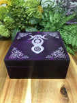 Goddess Soapstone Box