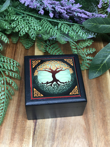 Celtic Tree Little Black Box 5.5cm