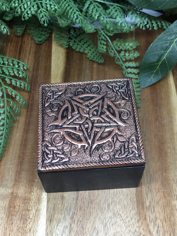 Pentacle Copper Box 6cm x 3.75cm