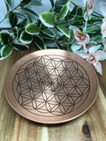 Flower Of Life Copper Bowl 15cm