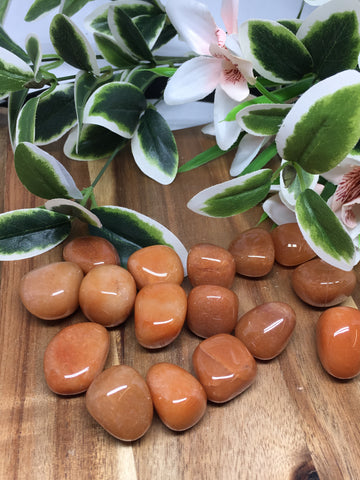 Orange Aventurine Tumble Stones