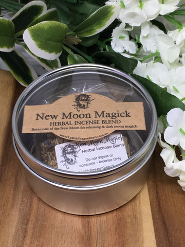 Lyllith Dragonheart - New Moon Magick Herbal Incense Blend