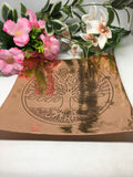 Tree Of Life Copper Plate 20cm