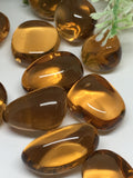 Amber Obsidian Tumble Stones  (man made)