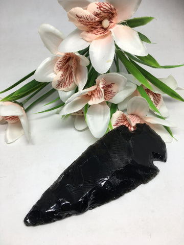 Black Obsidian Arrow Head