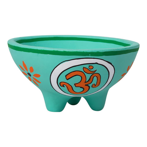 Om Clay Smudge Bowl 13.5cm x 7cm