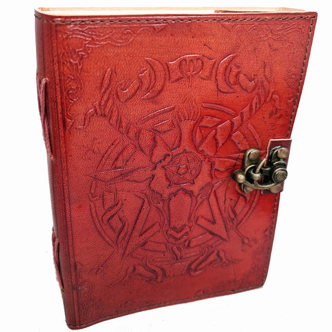 Baphomet Notebook / Journal / Book Of Shadows - Medium