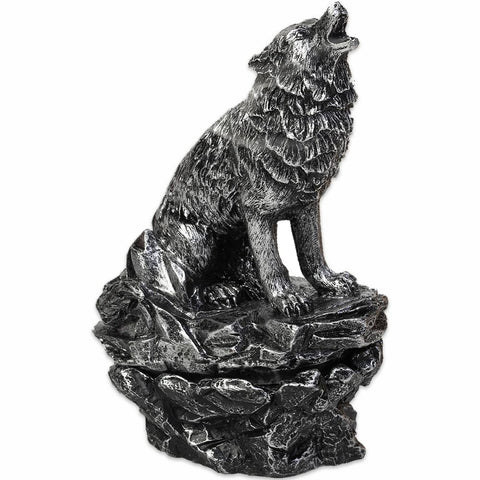 Howling Wolf Cone Incense Burner