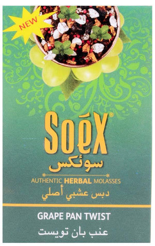 SOEX Grape Pan Twist Flavour 50gms
