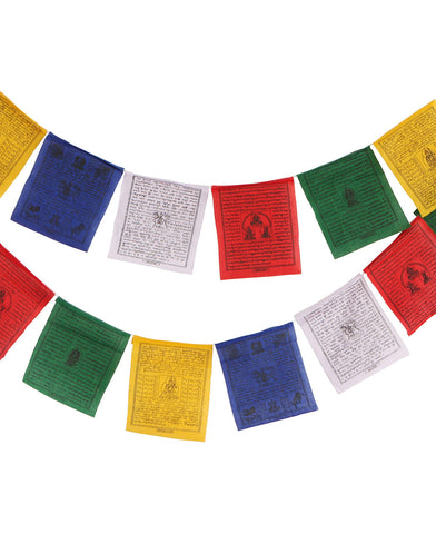 Tibetan Prayer Flag 44""