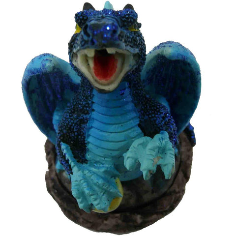 Smoking Dragon Cone Burner - Blue