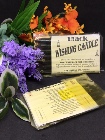Wishing Candle - Black