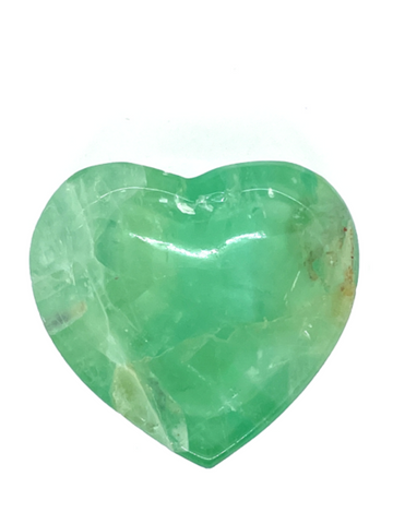 Green Fluorite Heart Bowl #178