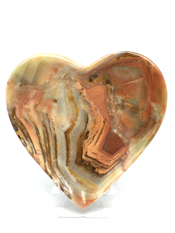 Green Onyx Heart Bowl #497