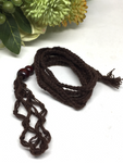 Brown Macrame Necklace