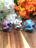 Candy Skull Key Rings