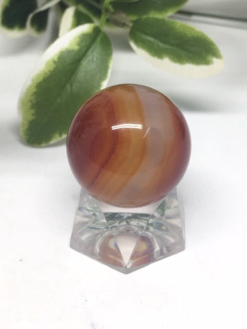Carnelian Sphere # 94 - 30mm