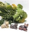 Cat Soapstone Carving