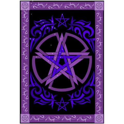Celtic Pentacle Tapestry 147cm x 208cm