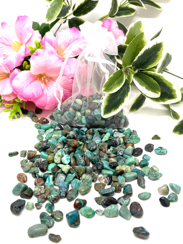 Chrysocolla Crystal Chips - 100g