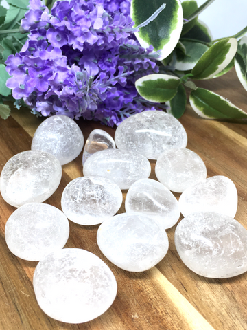 Clear Quartz Tumble Stones