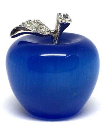 Cats Eye Dark Blue Small Apple