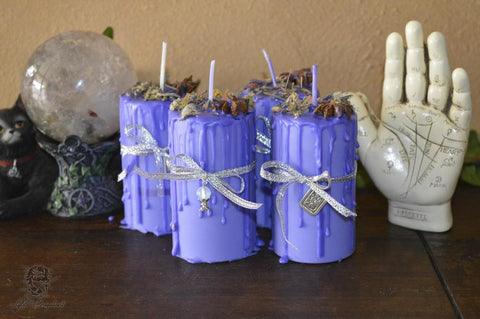 Divination Spell Candle - Lyllith Dragonheart