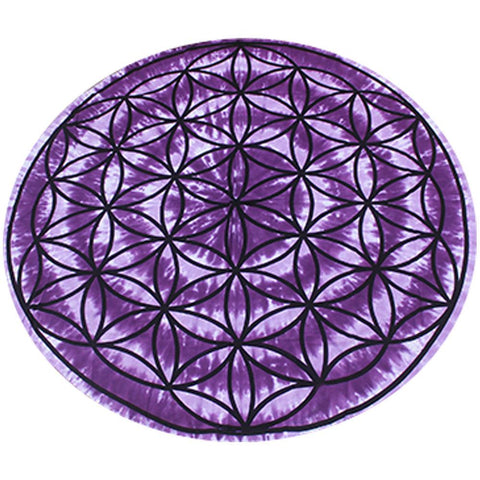 Flower Of Life Tapestry 150cm - Round