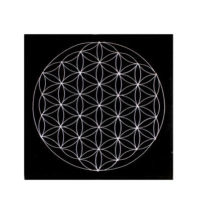 Flower Of Life Velvet Mat