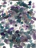 Fluorite Crystal Chips - 100g
