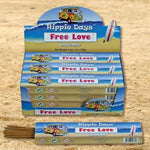 Hippie Days Free Love Incense Sticks