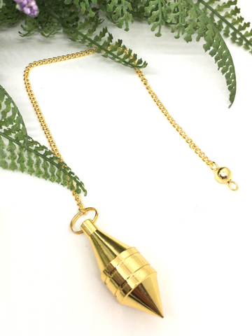 Gold Metal Pendulum