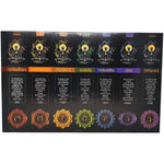 Goloka 7 in 1 Chakra Incense Pack (7 pack)