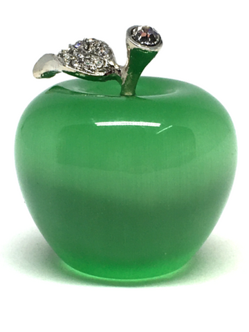Cats Eye Green Small Apple