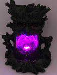 LED Green Tree Man Backflow Burner 16cm