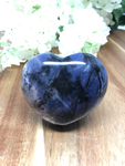 Sodalite Puff Heart # 484 - 45mm