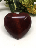 Red Jasper Puff Heart # 486 - 50mm