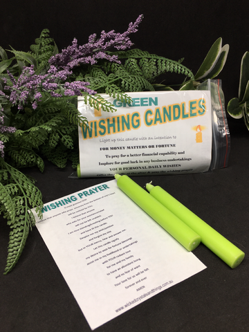 Wishing Candle - Green