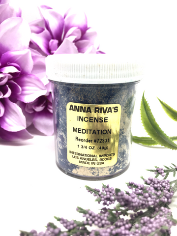 Meditation Incense Powder - Anna Riva's