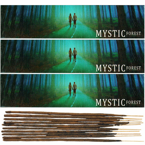 NEW MOON Mystic Forest Natural Incense Sticks